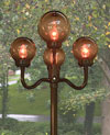 202 Bronze  European Street Lamp
