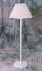 Traditional Shade Lamp - white - Model 110