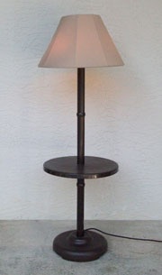 Traditional Shade Lamp - Bronze - Model 110T